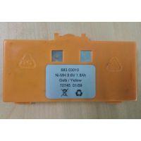 盾构机拼装机用遥控器电池 海德遥控器电池 Ni-MH 9.6V 68303010