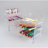 有机玻璃文具收纳架定制,有机玻璃收纳架 亚克力设计加工