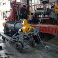 管道内壁除锈机 盐城工地专用甩浆机 民生工程专用甩浆机