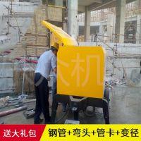 立式二次构造柱泵 乐众混凝土细石砂浆泵 二次构造柱浇筑专用泵输送泵