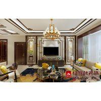 地中海钻石湾丨中式风格丨哈尔滨红枫叶装饰公司