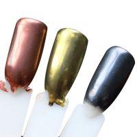 美甲新品魔镜粉 国产玫瑰金 2g装镜面人鱼粉极细激光指甲油闪粉