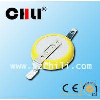 厂家直供3V CR2330插件焊脚电池 人脸识别考勤机电池