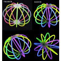 星奇玩具厂家直销一次性塑料儿童节荧光棒手镯发光球生日聚会求婚地摊热卖亲子交流互动玩具