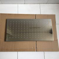 感应强制淋浴器配套304不锈钢顶喷花洒泳池强制喷淋300*600