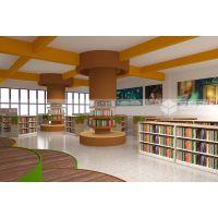 图书馆装修设计施工 中小学图书馆 阅览室设计装修