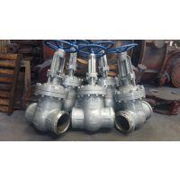 焊接闸阀Z61Y-40C 宏图阀门