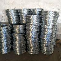 本厂出售高质量Q195圆形镀锌铁丝 镀锌丝 耐蚀性好可定制