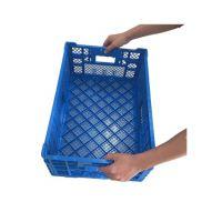 品牌塑料折叠周转筐 折叠果蔬筐 加厚 全新HDPE 厂家直销 604034