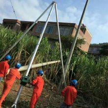 霸州洪涛电线杆立杆机销售 8-15米水泥杆立杆器生产厂家洪涛厂家