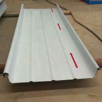 浙江厂家供应 体育场馆屋面板用白银灰 0.8mm 65-400 铝镁锰板