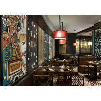青岛时尚餐厅设计装修 青岛时下***流行的餐厅设计 青岛餐厅酒店设计装修