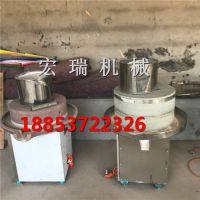 汕头豆浆石磨机 芝麻酱石磨机宏瑞生产厂家