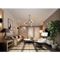 山水装饰设计师最新作品88㎡现代简约风格二居室装修设计