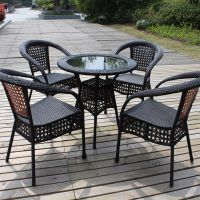 供应休闲桌椅、休闲家具,户外家具,编藤桌椅,编藤沙发,桌椅套件