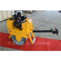 江苏手扶式压路机单轮震动压实机适用于灰土路面沥青路面简单好操作