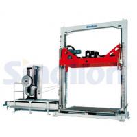 深蓝机器SKV-1220水平式PET钢带捆扎机 生产打包带 打包机