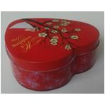 心形糖果铁盒包装婚庆喜糖盒铁盒包装 包装盒定制批发