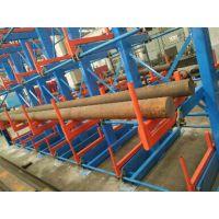 供应,广东省生产车架管材机械式悬臂货架6097手动可伸缩