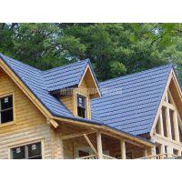 彩石金属瓦 房屋防水材料 圆弧彩砂瓦抗腐蚀耐用