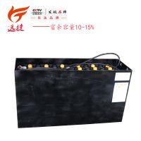 叉车蓄电池 电动车电瓶 叉车铅酸蓄电池4VBS300-48V蓄电池厂