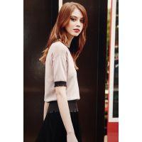 瑞丽韩诗17夏装吉林服装库存软件品牌女装折扣店加盟哪家好多种面料多色供选连衣裙