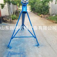 晋城爬坡绞龙上料机 振德生产 螺旋绞龙熟料提升机 定做短距离谷物吸粮设备