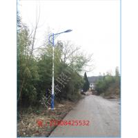 湖南益阳南县6米灯杆 30wLED灯头24V农村太阳能道路灯