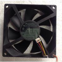 原装松下FBA09A12U 12v 0.55A 三线9厘米 测速服务器风扇现货