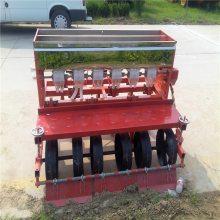 洛宁县免间苗精密白菜播种机 启航拖拉机带动娃娃菜播种机 四行手推汽油芥菜精播机厂家