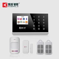 刻锐KR-8218G防盗触摸式双网智慧联网报警器系统