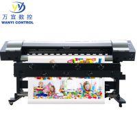 1.9米大幅面服装热转印机 数码印花打印机 可上门 价格有质量好打印效果精美