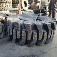 直销20.5/70-16半实心铲车装载机轮胎 加深花纹耐磨耐刺扎