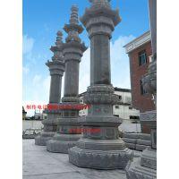 佛教经幢雕刻的形式以及其来源嘉祥长城石雕