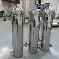 厂家直销广东潮汕瓶装水企业304不锈钢PP滤芯精密过滤器找晨兴制造