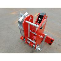 龙门吊防风铁楔止挡器 YFX-630/80电力液压防风铁楔 码头专用 澳尔新