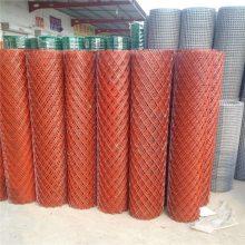 金华2米宽20米长成卷喷塑菱形钢板网——20*40mm挡粮钢板网【色泽光亮】