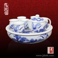 陶瓷茶具价格 国庆送客户礼品定制套装茶具