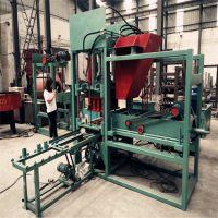 梦人供应中型彩色步道砖生产线 多功能砌块机 液压成型免烧砖机