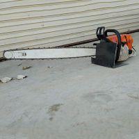 铲头式手提挖树机 多功能启航汽油动力链条起树机 手持式苗木断根机