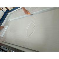 山东厂家供应免漆门覆膜机,多功能橱柜门板吸塑机