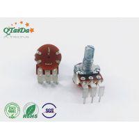 深圳厂家R1610NS开关电位器调光调速调音响单双联碳膜电位器全系列