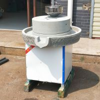 芝麻花生酱石磨机 电动商用米浆肠粉石磨 家用小型磨浆机