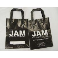 厂家批发供应 休闲环保软挽袋 提挽服装袋 礼品袋