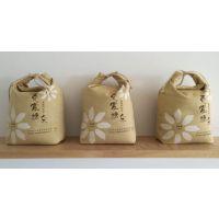 河南野望定制布艺食品包装布袋帆布包装袋束口袋米袋面袋量大从优