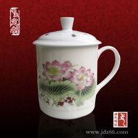 杯子生产厂家 定做青花瓷茶杯送礼