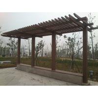 红树林湖北省宜昌市户外木塑花架,木塑葡萄架