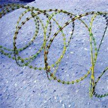刀片刺绳机 双螺旋刀片刺网 热镀锌刺绳