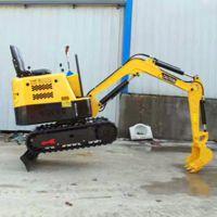 硕阳机械1.2吨橡胶履带小型液压挖掘机