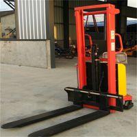石家庄米半电动液压堆高车 2T1.6米半电动液压堆高车产品的详细说明